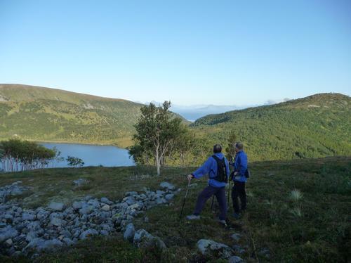 Utsikt fra Vakkerdalen mot Nupen