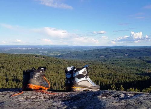 Utsikt fra Kvernsjøberget