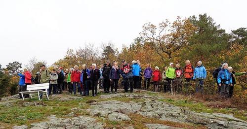 Onsdag 17.oktober gikk turen i nærområdene i bymarka vår