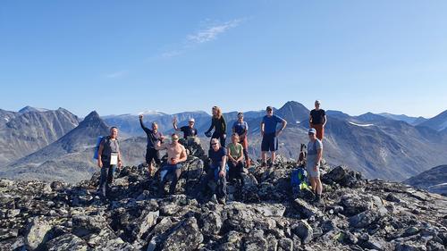 2000-m topptur med AKTIV til Jotunheimen
