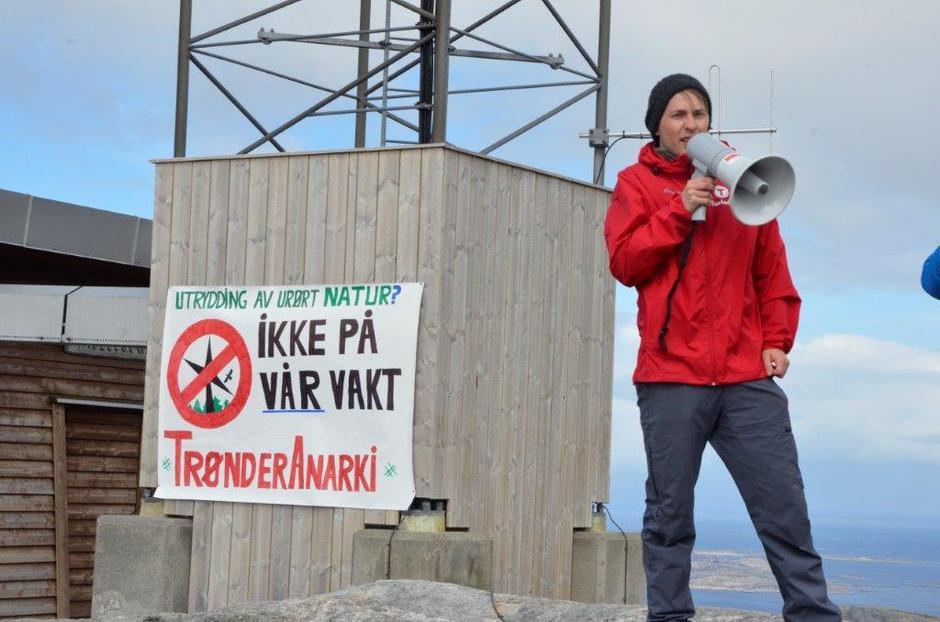 Fredrik Fredriksen holdt appell