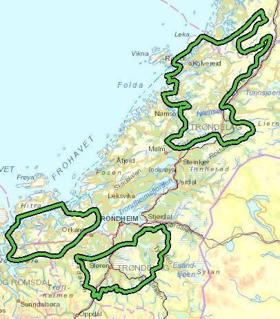 NVE foreslår at 40 % av kommende vindkraft legges til Trøndelag