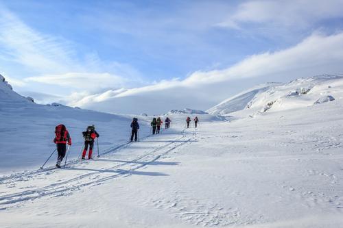 Fellestur på vinteren med DNT Sør