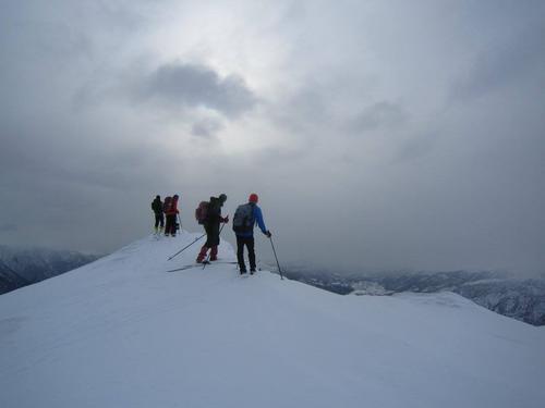 Flott skitur til Grånosene med utsikt i alle retningar
