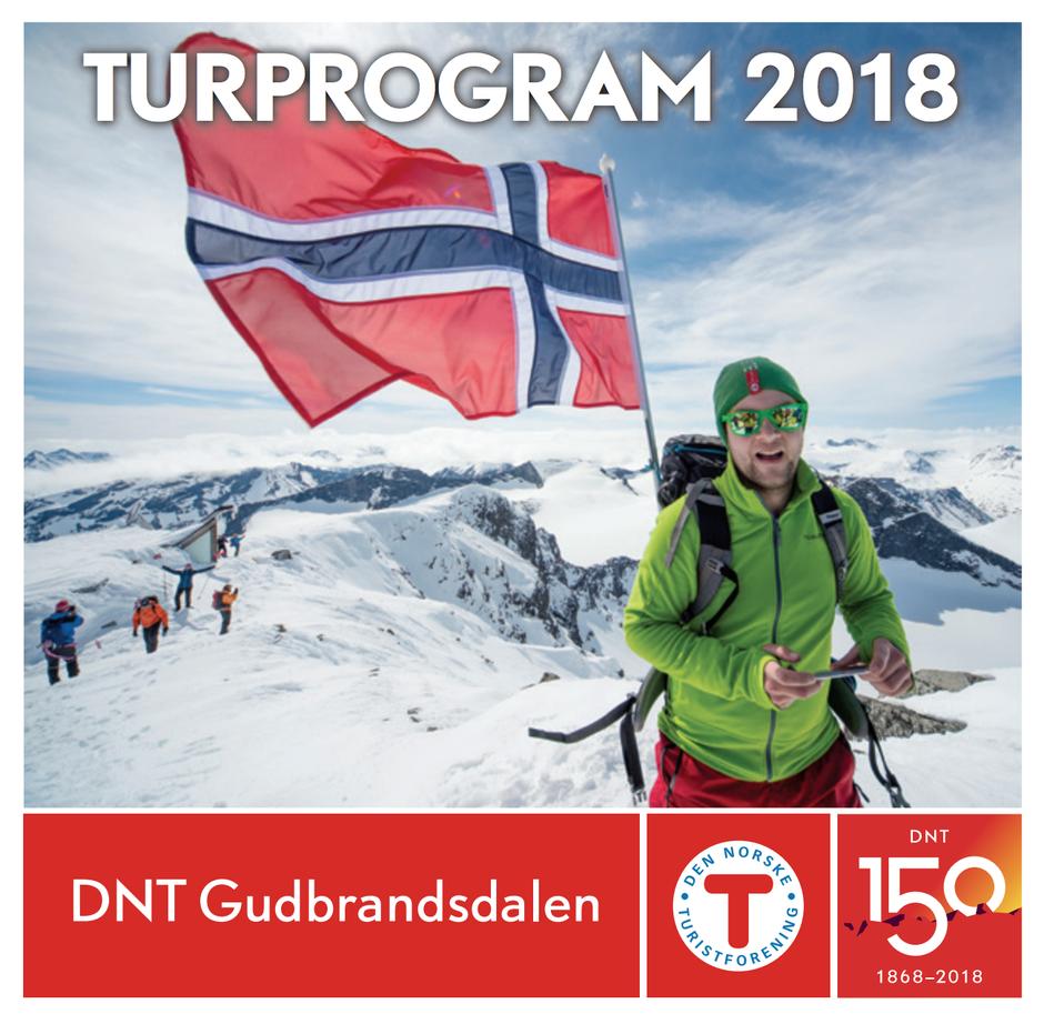 Turprogram for DNT Gudbrandsdalen 2018 finner du her.