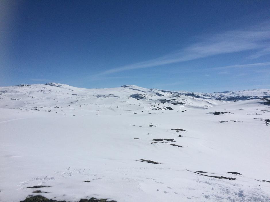 Søndag 30.4: Dronningstien - skiføre fra 700 moh