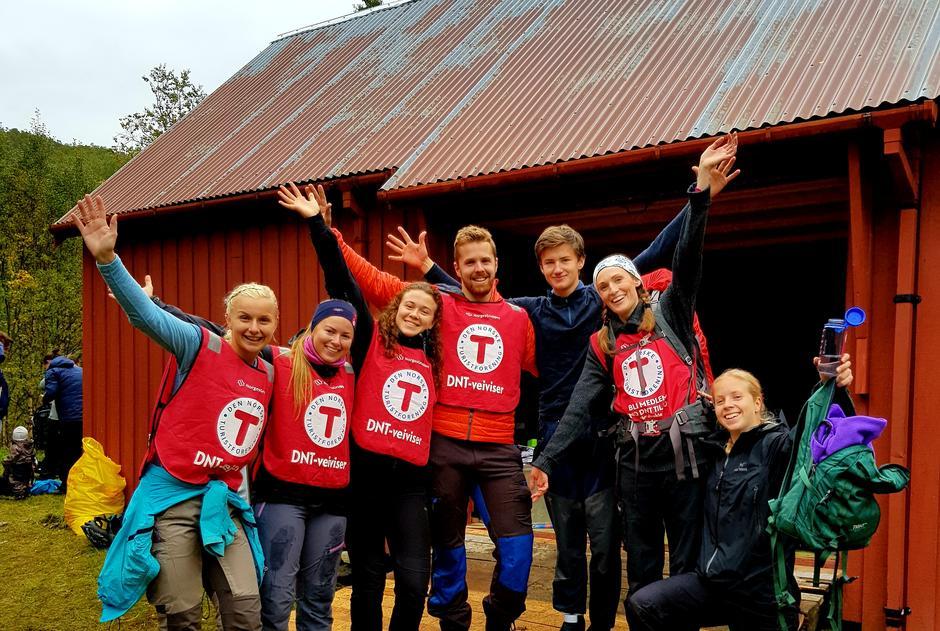 DNT er tuftet på dugnadsinnsats, og vi har en fantastisk gjeng her i Bodø.