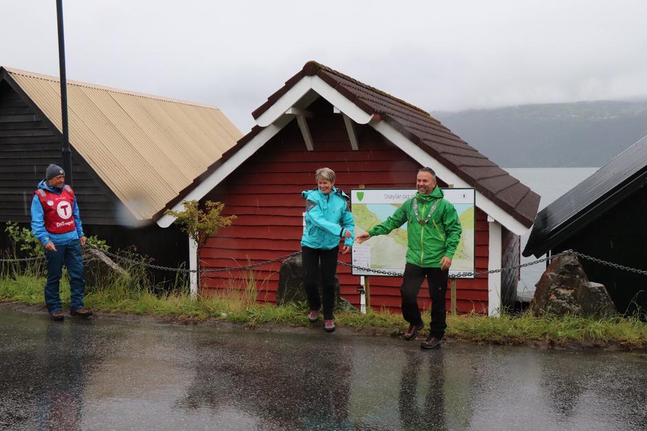 30.05.2019 - åpning av stinettet i Utvik.