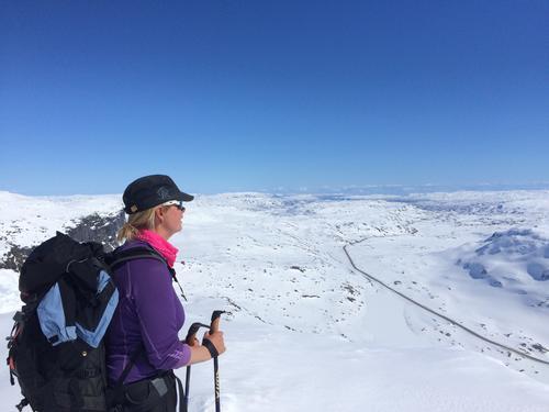 Skitur på Haukelifjell