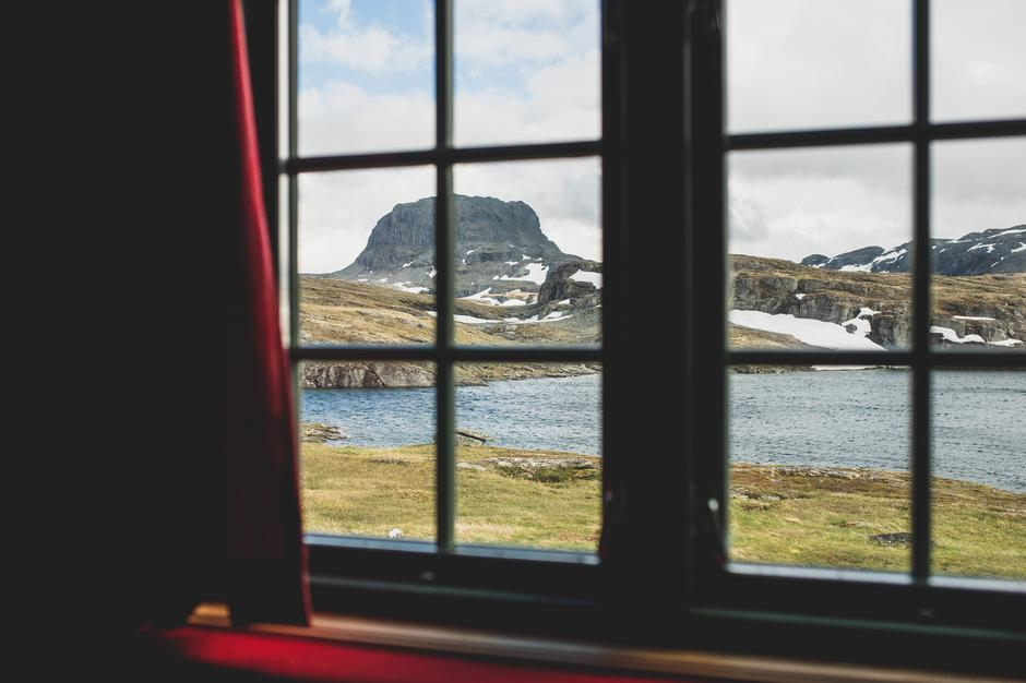 Torehytten på Hardangervidda.