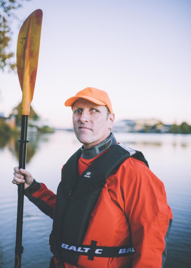 Andreas Walen, er svaksynt kajakkpadler og en av våre profiler i 2019-kampanjen.