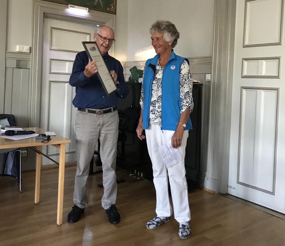 Liv Frøysaa Moe mottar ærespris