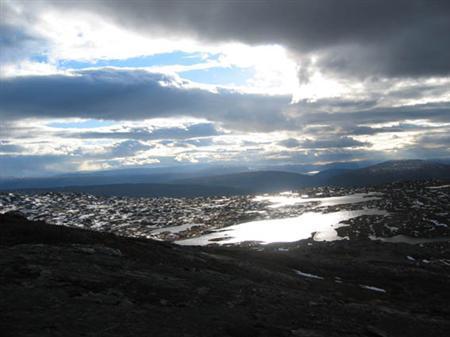 Topptur på ski til Kuhaugfjellet