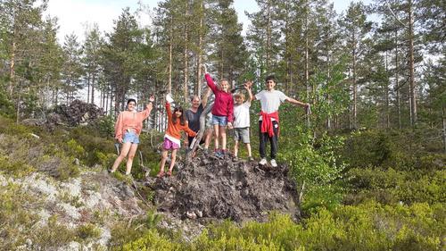 Overnattingstur i hengekøye - Barnas Turlag
