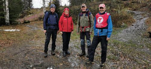 Turledere gjennom 10 åri Ut på tur-gruppene