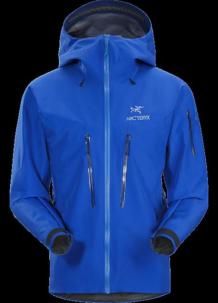 Alpha SV jakke: Hardskall i slitesterkt GORE-TEX Pro for langvarig bruk i spesielt krevende alpine forhold.