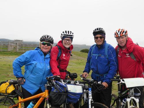 16. – 17. juli var det sykkeltur til Haldorbu
