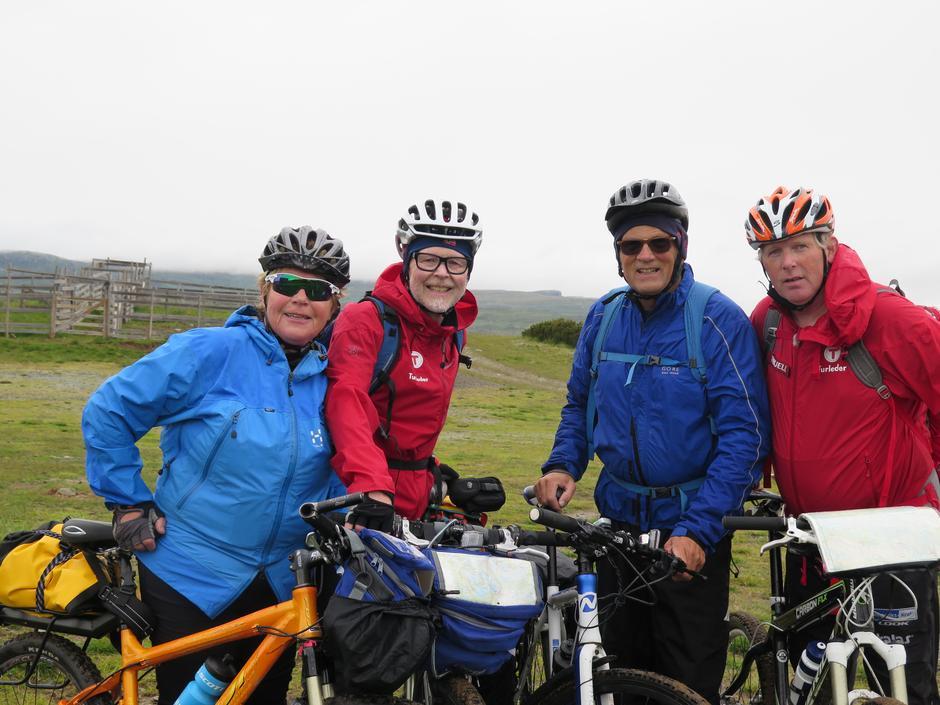 Sykkelturgjengen på Kvitfeten søndag
