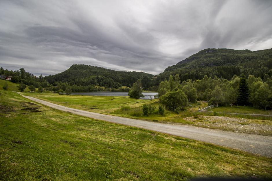 Øvre Rasdalen og Rasdalsvatnet.