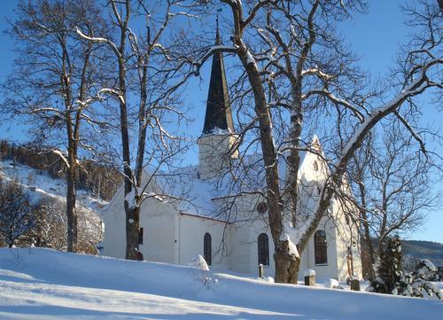 Heggen kirke, Modum