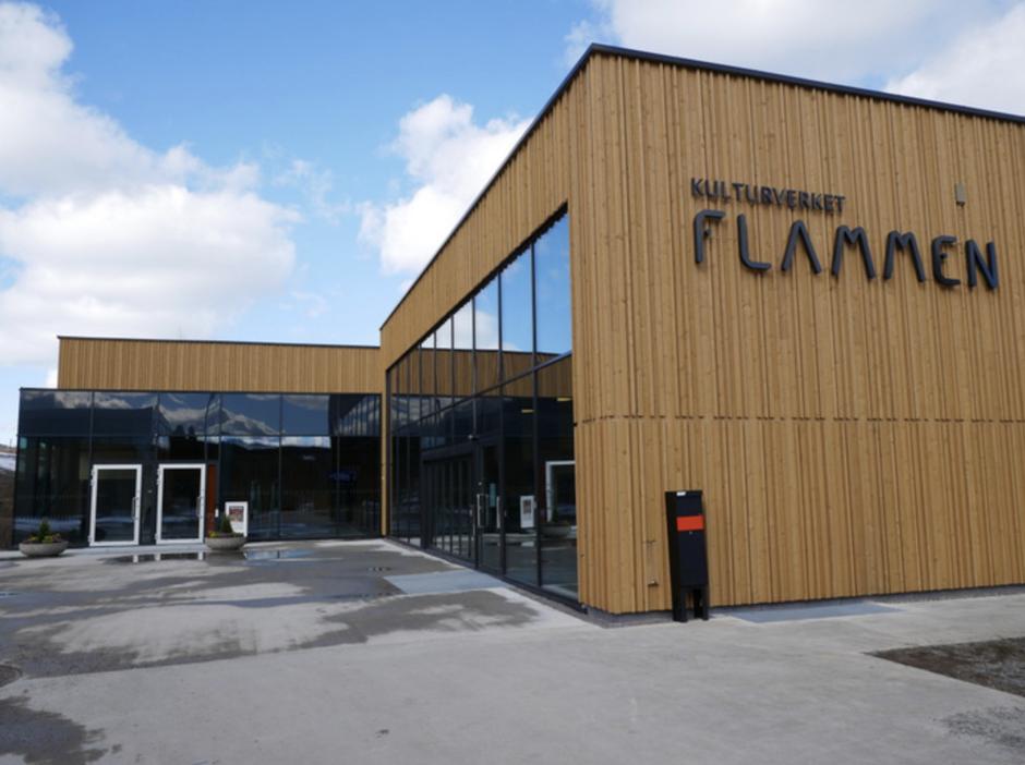 Vi møtes i Lillesalen, Kulturverket Flammen onsdag kveld.