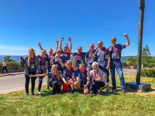 Team Telemark på DNTs landsmøte