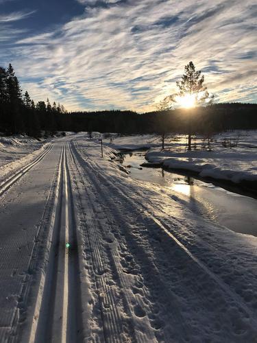 Skitur på Svanstul