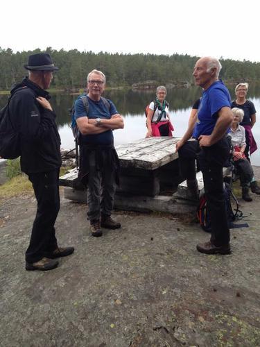 Seniorgruppa til Helgevann
