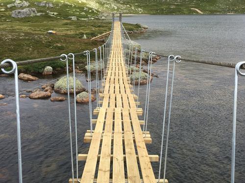 Ny bro ved Bossbu.