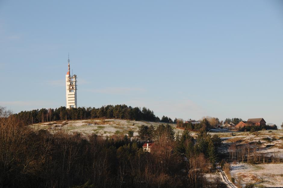 Vinter på Ullandhaug.