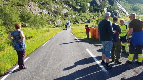 Transport/vedlikehold på Blåbrebu og Gjegnabu.  Utbetringane oppdateres fortløpande