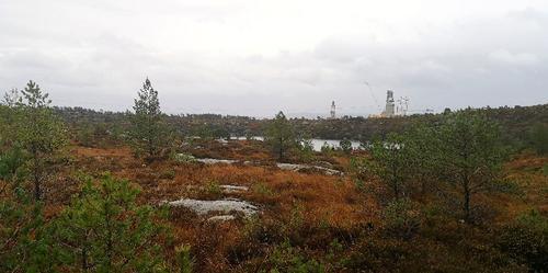 frisk tur i marka mellom Ågotnes og solsvik