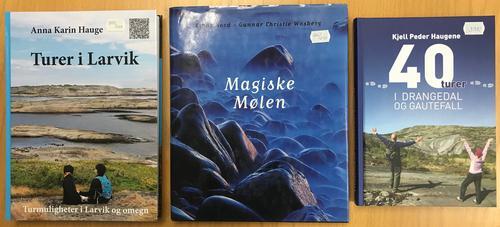 Bøker i turbutikken