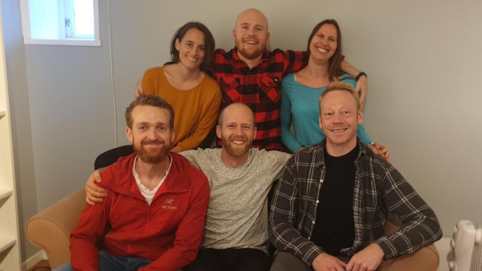 Ressursgruppen i DNT fjellsport Bergen: Marion, Olav André, Ragnhild, Jens-Petter, Thomas og Njål. Ingunn var ikke med på bildet.
