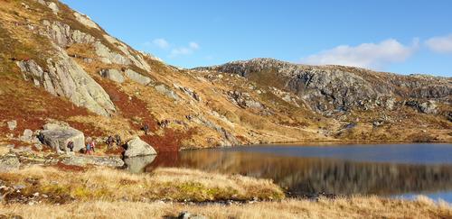 Vann like ved Trongedalen (810 moh)