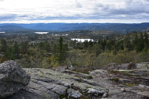 Utsikt fra Varden