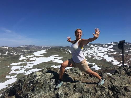 Yogalærer Ina Kristine Løvdal