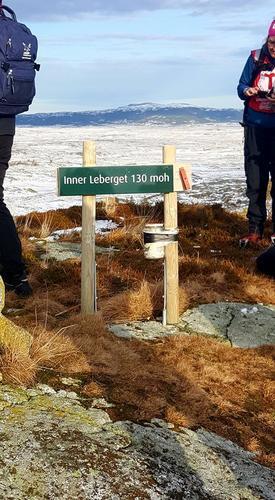 På toppen av Leberget