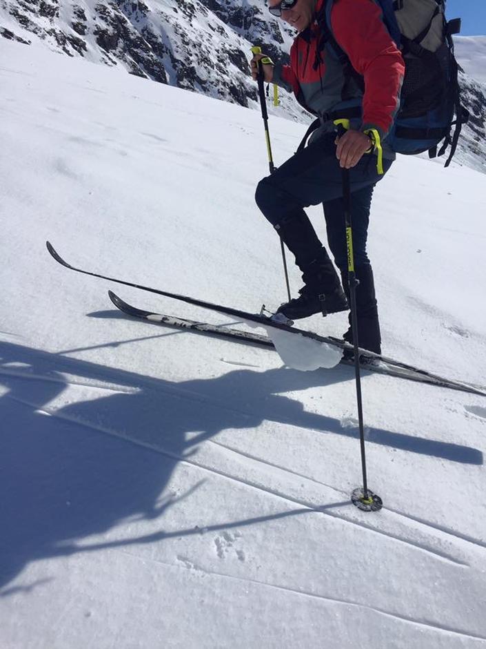 Turleiaren var så oppteken av at alle andre skulle ha gode ski, at han gløymde seg sjølv
