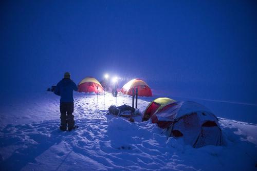 Telting på vinteren