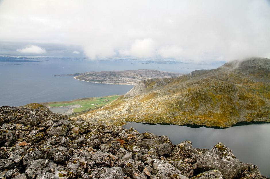 Fra toppen mot Høyholm