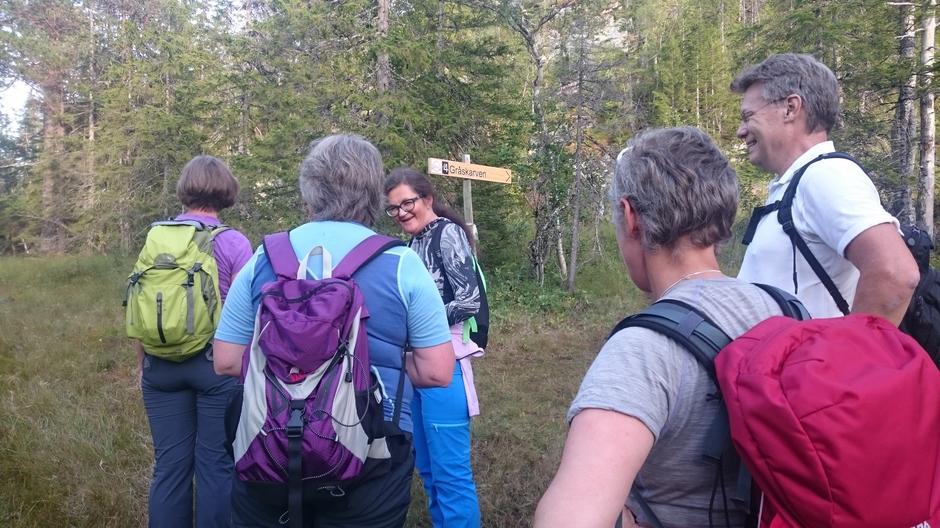 Til Topps-tur i Folkehelseuka til Gråskarven