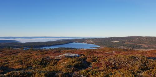 Utsikt mot Sjusjøen
