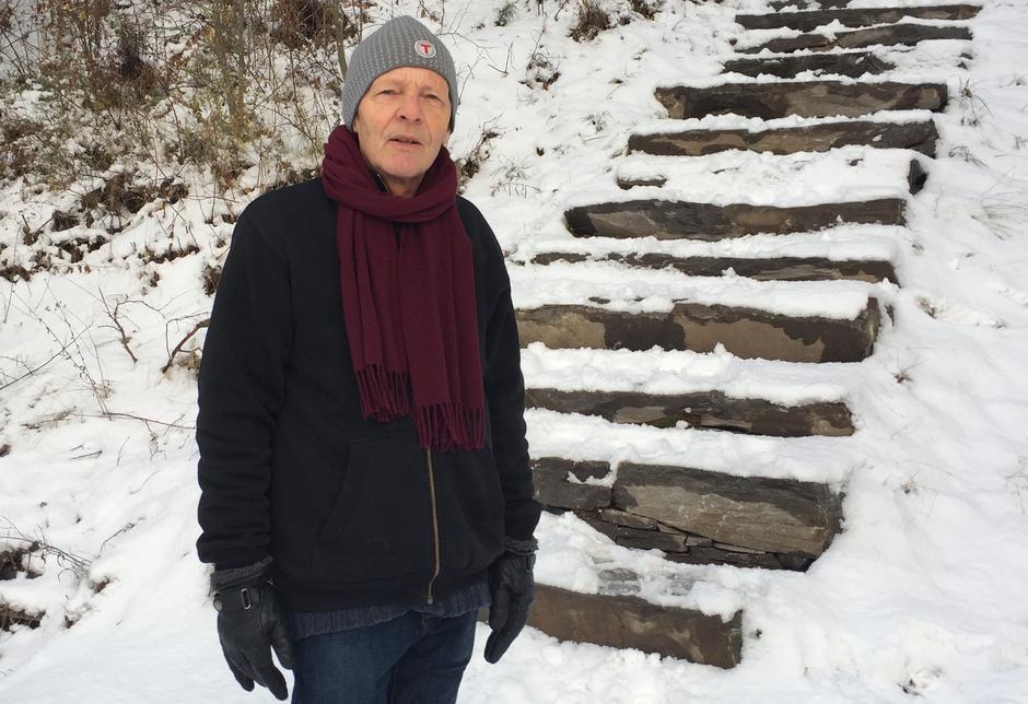 Terje Thurmann-Moe, prosjektleder for Sherpatrappene.