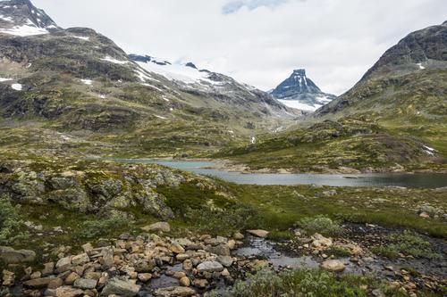 På vei ned Gravdalen med Storebjørn mot nord