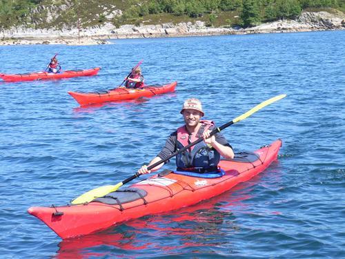 Padling på Ellingsøyfjorden