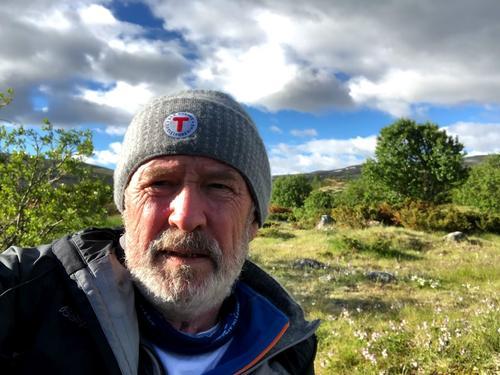 Svein Blålid på tur i 2019