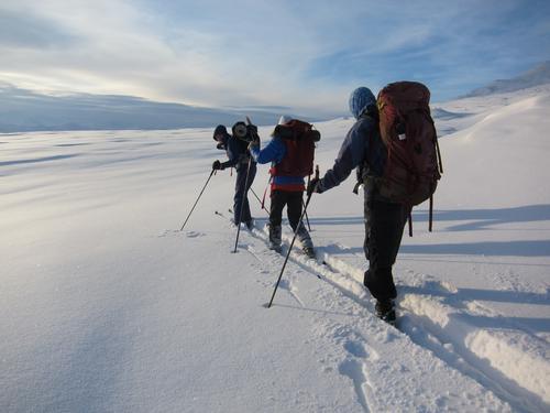 5. desember var det skitur i tåke og sol på Valdresflye
