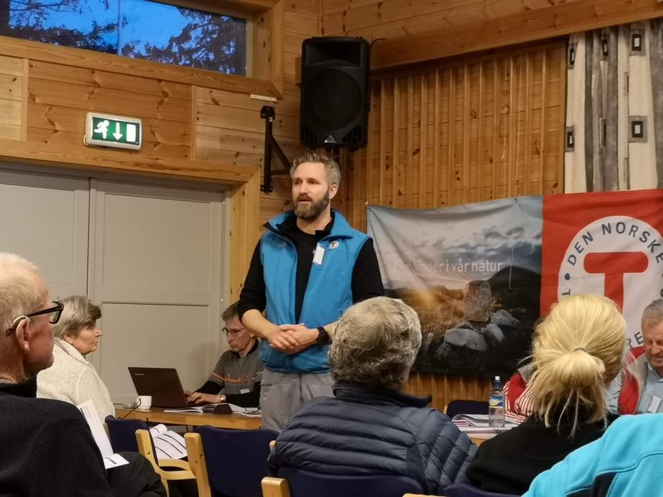 Vi ønsker Thor Kamfjord velkommen inn i styret som ny leder.
