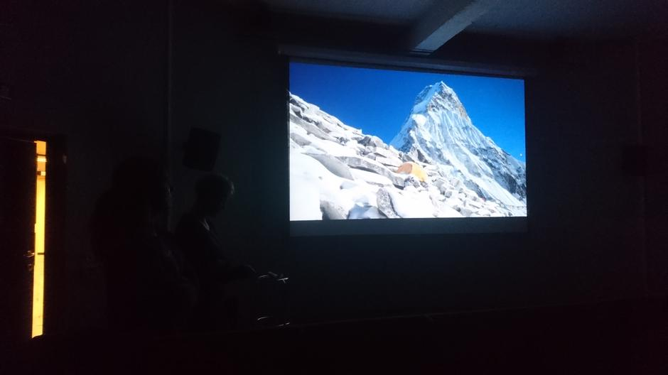 Toppen på Ama Dablam, nærmere 7000 høydemeter.